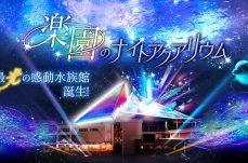 横浜・八景島シーパラダイスが11月19日より楽園のナイトアクアリウムを開催!音と光の幻想的異世界