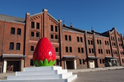 横浜赤レンガ倉庫でストロベリーフェスティバル2017が開催!苺の無料サンプリングあり!