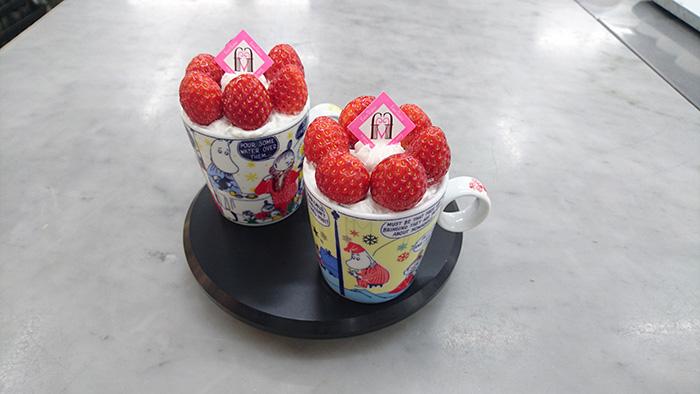 苺のババロア 各500円(税込)