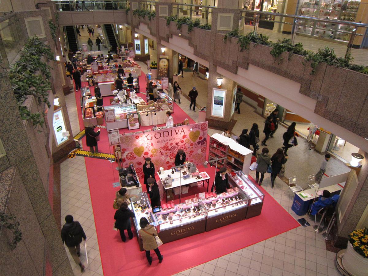横浜 ランドマークプラザで「バレンタインギフトマーケット」が2017年2月8日より開催!