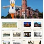 横浜が詰まったオリジナルフレーム切手「中区制 90周年・開港記念会館 100周年」が2月1日から発売!