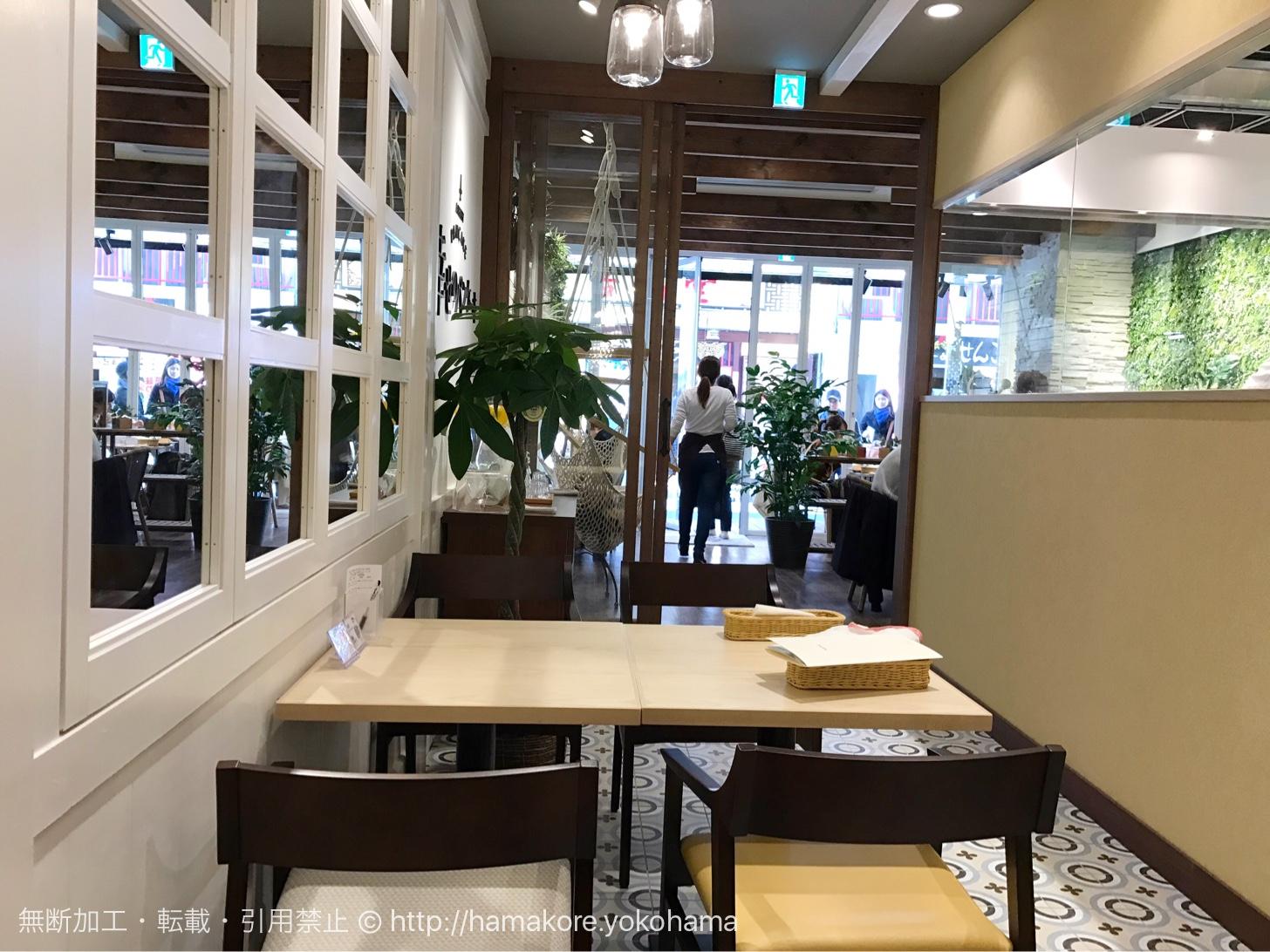 幸せのパンケーキ 横浜中華街店 店内