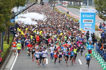 横浜マラソン2017開催により10月29日に一般道・首都高の交通規制を実施
