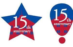 横浜赤レンガ倉庫 15周年ロゴ決定!青い空と横浜赤レンガ倉庫を表現