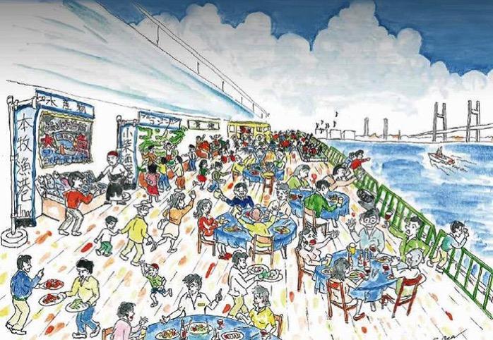 横浜初の岸壁市場「大さん橋マルシェ」が2月18日・19日に開催!入場無料