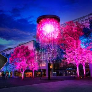 チームラボ「人と木々とクリスタル花火」を横浜で2017年3月25日から開催!
