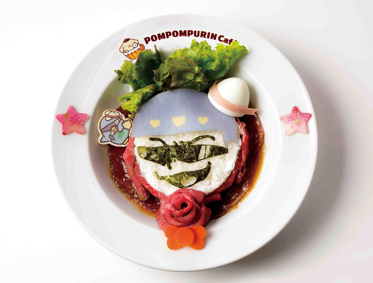 カラ松とタキシードサムの俺たち肉食系!ローストビーフ丼 1,690円