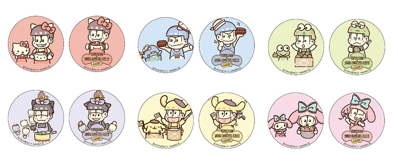 缶バッチ(2個入り)600円