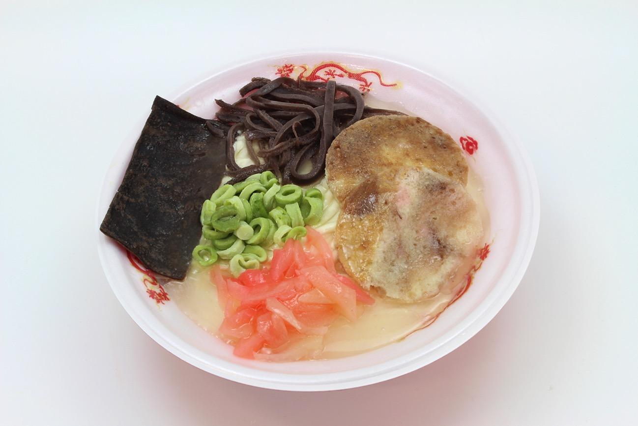 ラーメンケーキ(清陽軒のすっぴんラーメン)