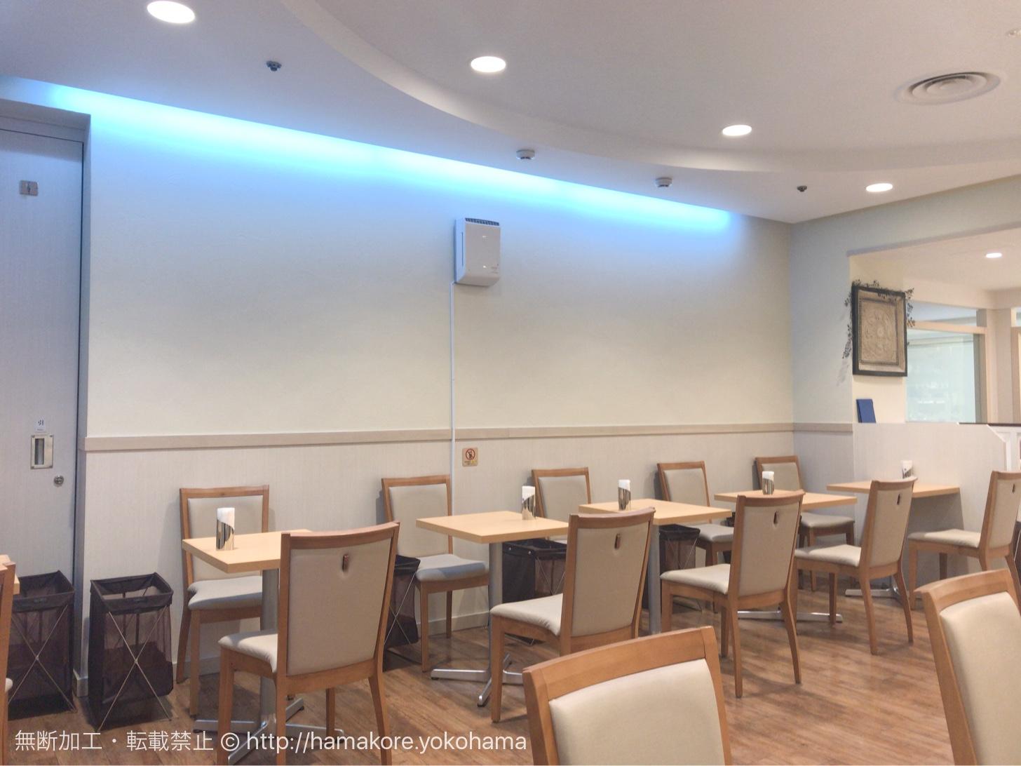 横浜タカシマヤ「カフェセブン」で静かなティータイム!心地良い接客と空間に満足