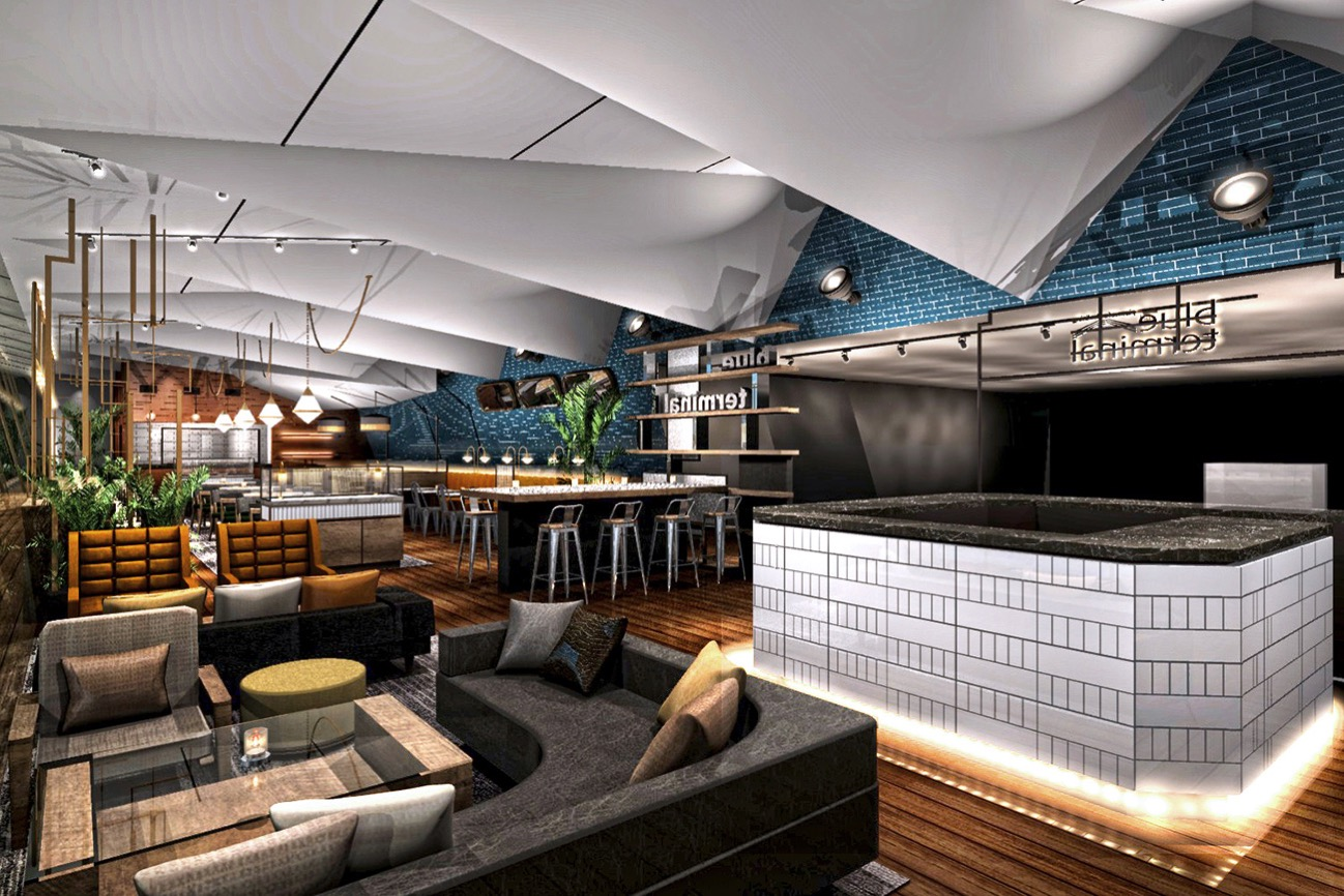 café & dining blue terminal(カフェ アンド ダイニング ブルーターミナル) 店内イメージ