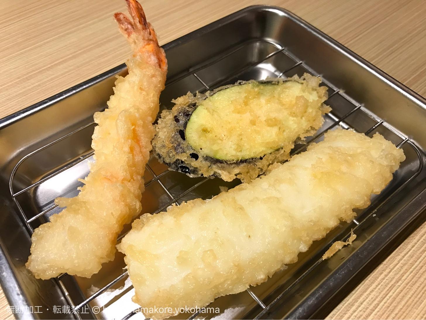 横浜駅 博多天ぷら「たかお」は揚げたて天ぷらを複数回で提供!常に熱々、安くて絶品!