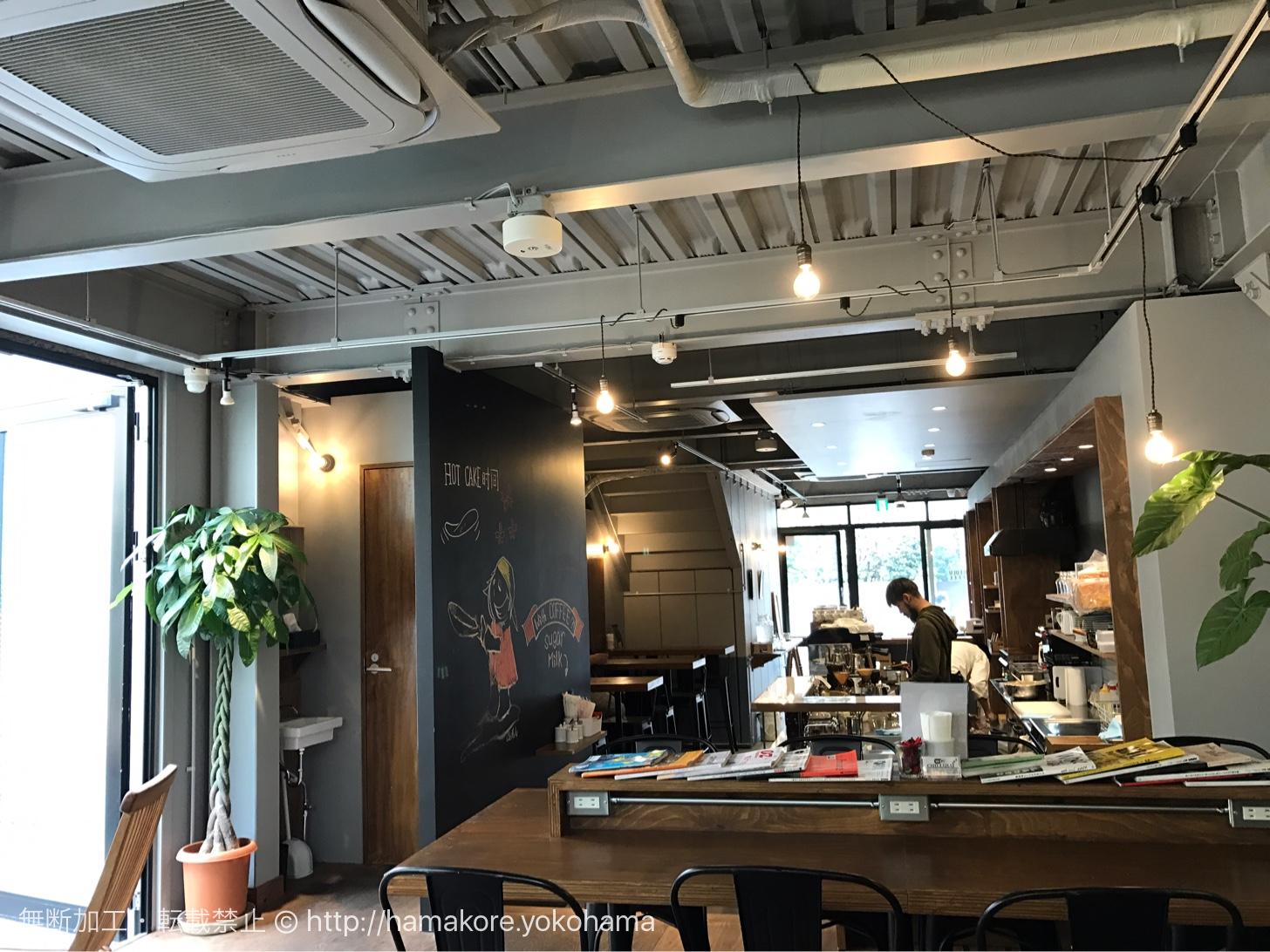 CHILLULU COFFEE 店内