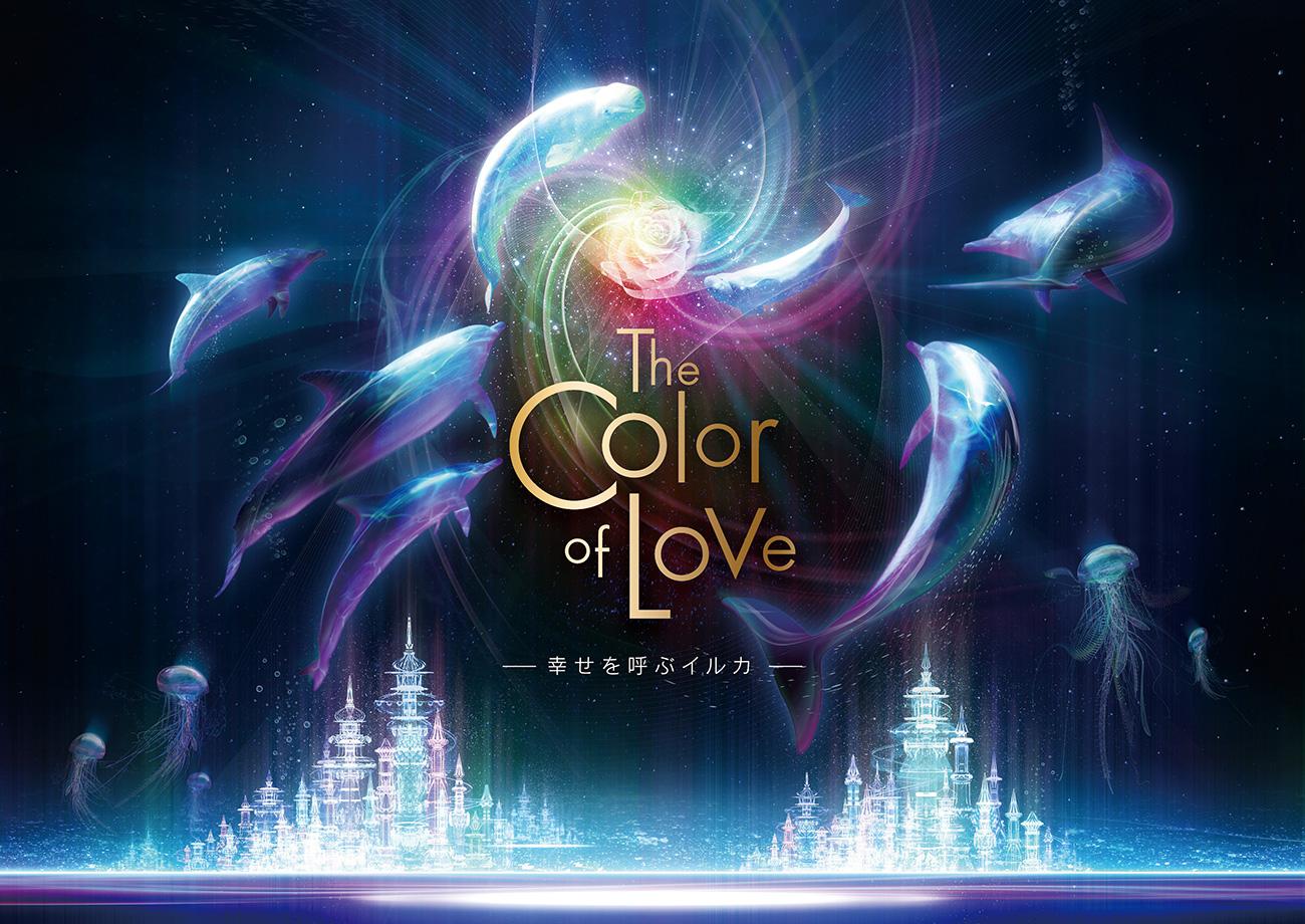ナイトショー「The Color of Love 〜幸せを呼ぶイルカ〜」について