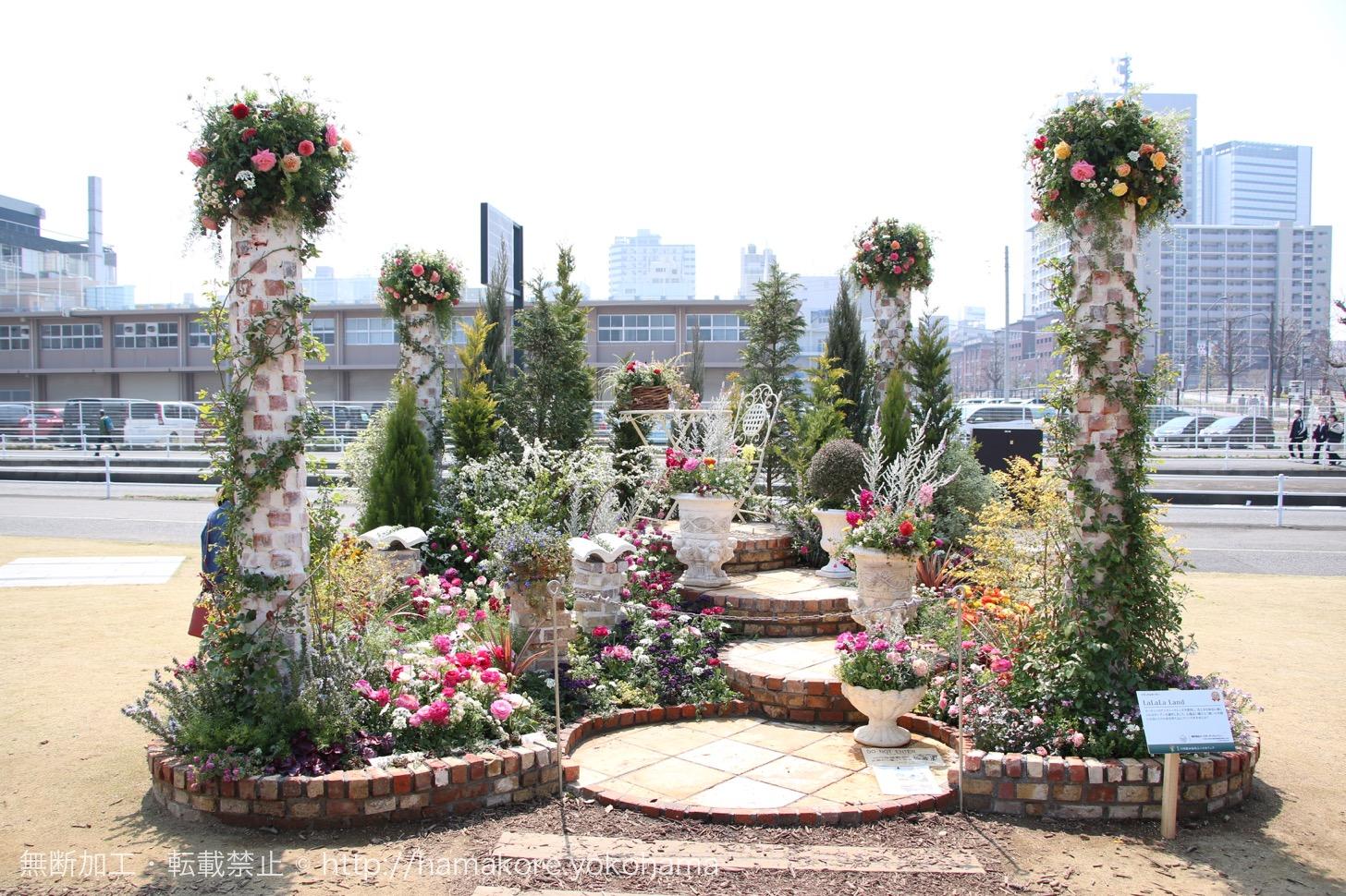 全国都市緑化横浜フェア 横浜赤レンガ倉庫周辺の庭園