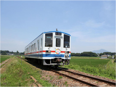 10周年限定キャラクターヘッドマーク特別列車