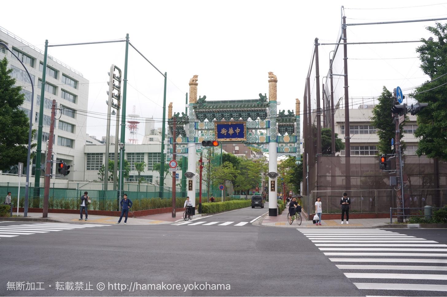 緑の中華街西門