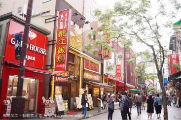 横浜中華街(善隣門)の最寄駅・JR「石川町駅」から中華街に行く方法