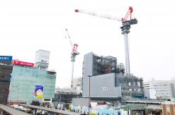2017年5月 横浜駅西口 駅ビル完成までの様子 [写真掲載]
