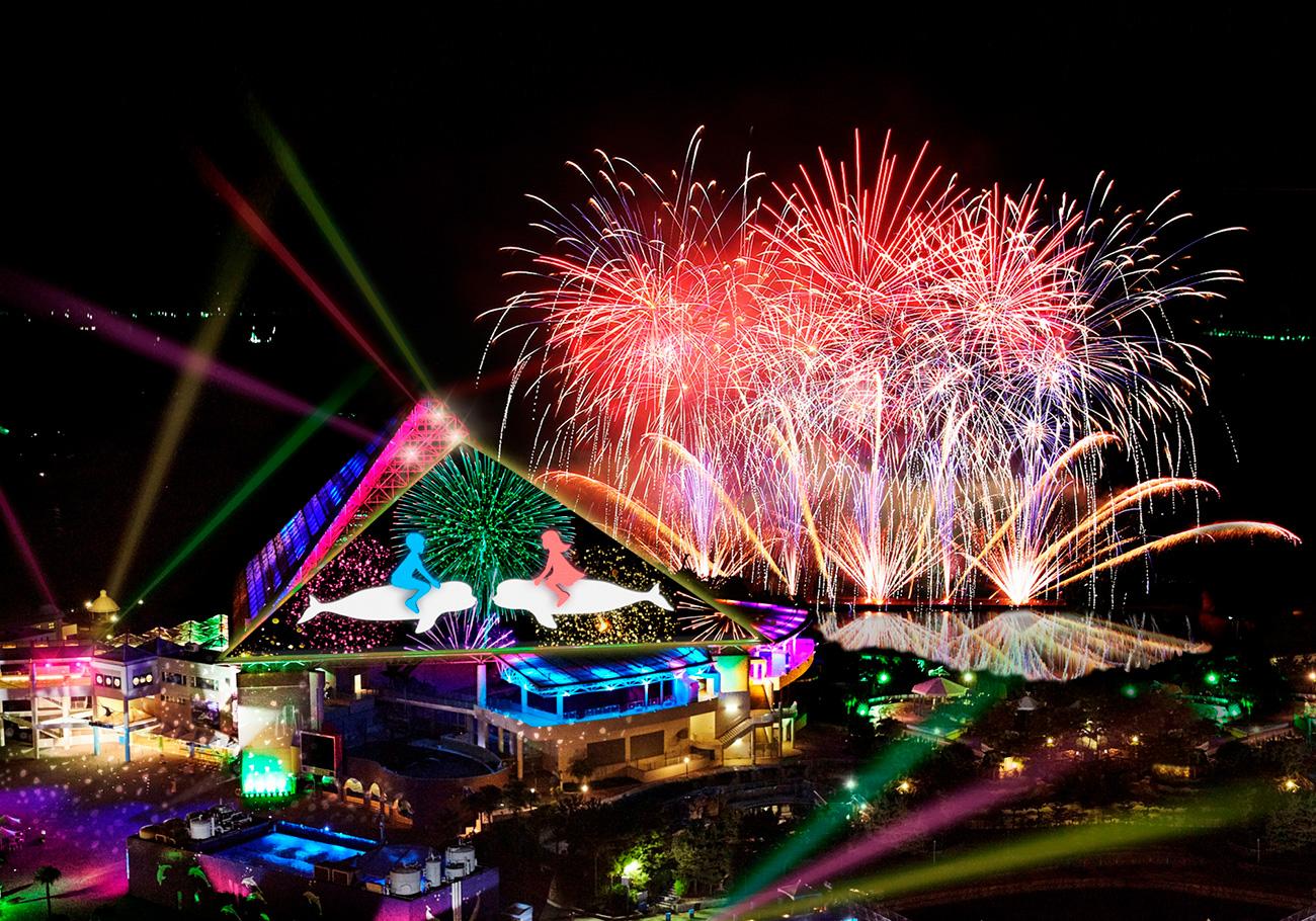 横浜・八景島シーパラダイスで究極の花火ショー「花火シンフォニア」が2017年5月3日より開催!