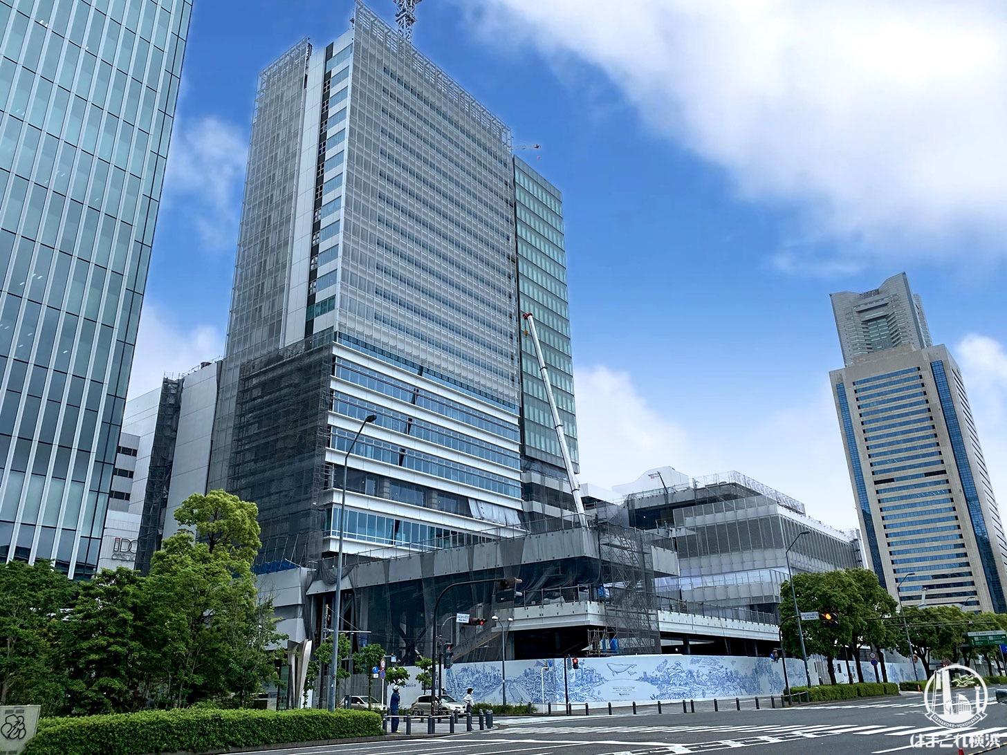 神奈川大学(神大)予定地 2020年6月撮影