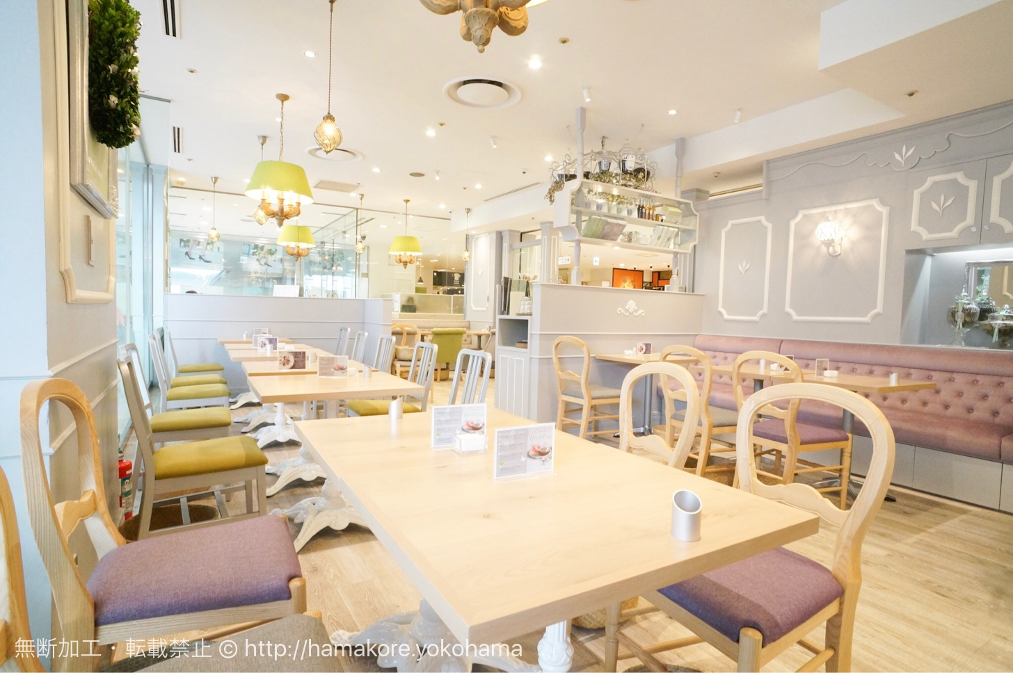 新茶の紅茶が飲める!横浜駅「マザーリーフ」がお洒落可愛いカフェに一新