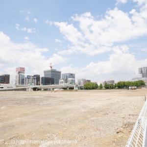 横浜みなとみらい トヨタジョイパークと日産カーパレスの跡地がいつの間にか広大な更地に!