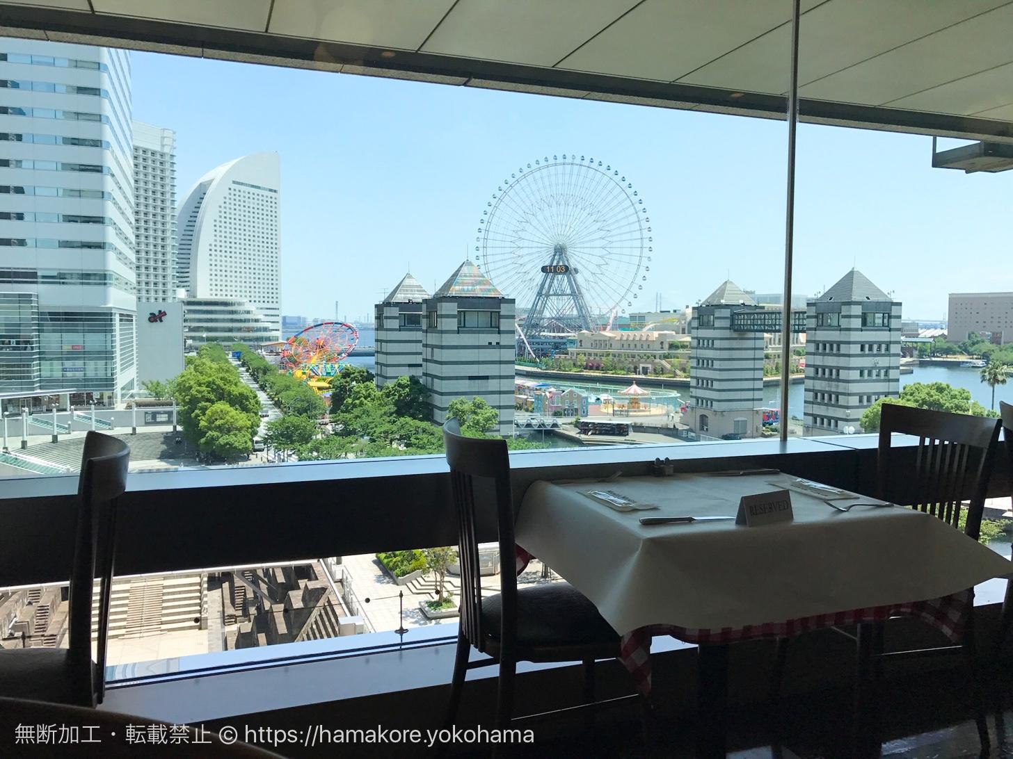 横浜ランドマークタワー「マンジャマンジャ」は週末ランチにおすすめ!みなとみらいの景色広がる