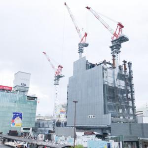2017年6月 横浜駅西口 駅ビル完成までの様子 [写真掲載]