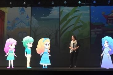 DMM VR TEATHERで「3ねんDぐみガラスの仮面」が完全オリジナル作品で公演中!