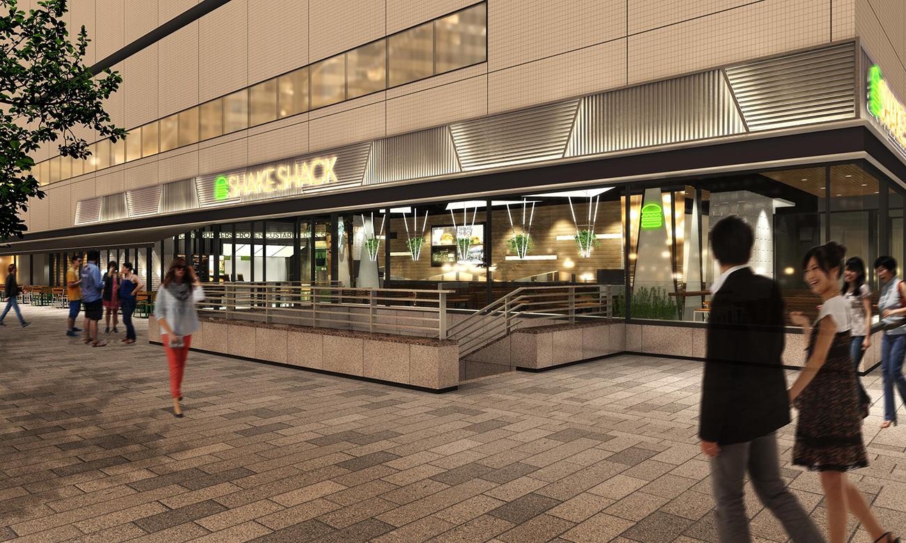 シェイク シャック 5号店が横浜みなとみらいに今秋、初出店!場所はキハチイタリアン跡地