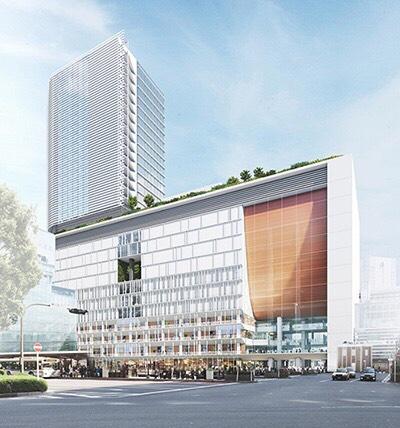 横浜西口駅ビル計画 完成イメージ
