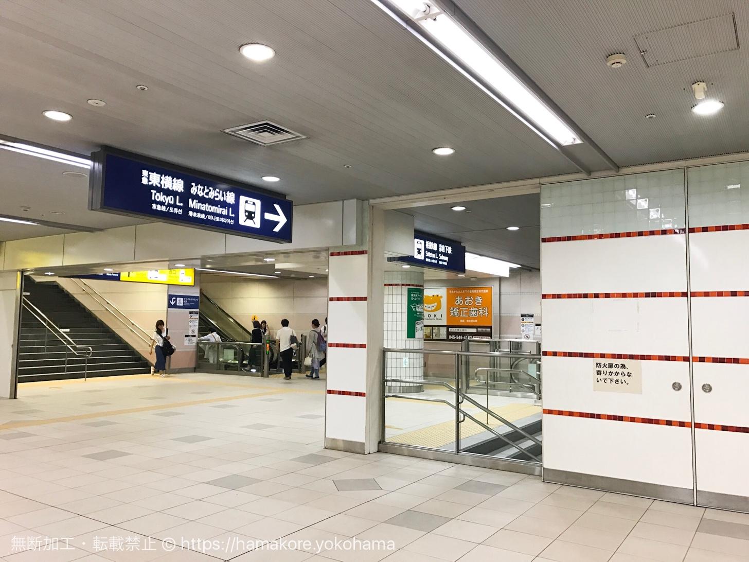 ザ・ロイヤルカフェ横浜のあるフロア