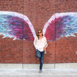 日本初のエンジェルウィングス(天使の羽) MARINE & WALK YOKOHAMAでお披露目