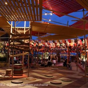 2017年夏 横浜赤レンガ「リゾート地イベント」夜のライトアップを紹介!大人な雰囲気が美しい!