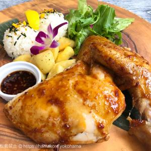 メレンゲ みなとみらい店 ランチで食事メニューに悩んだら「ハワイアンバーベキューチキン」が本格的でおすすめ!