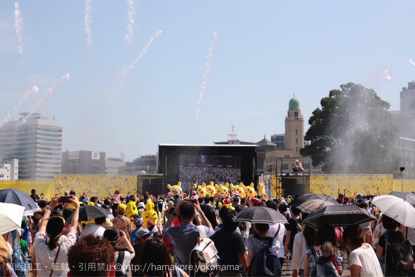 2017年 ピカチュウ大量発生チュウ!スプラッシュショーが8月9日より横浜赤レンガで開催決定!