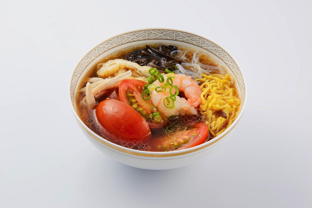 皇朝「番茄酸辣湯~トマト入りサンラータン~」1個 648円(税込)