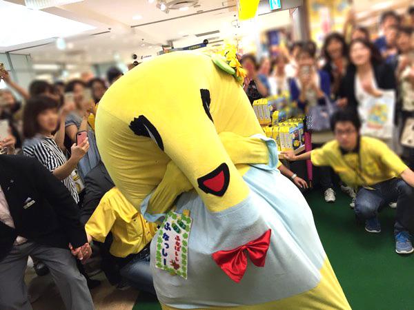 2017年 ふなっしーランドが横浜そごうにオープン!