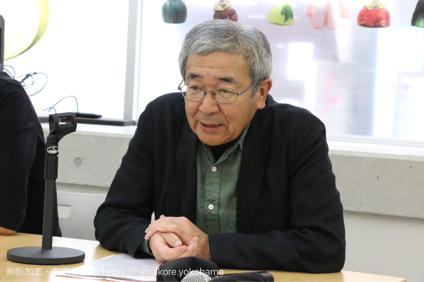 黄金町バザールディレクター 山野真悟氏