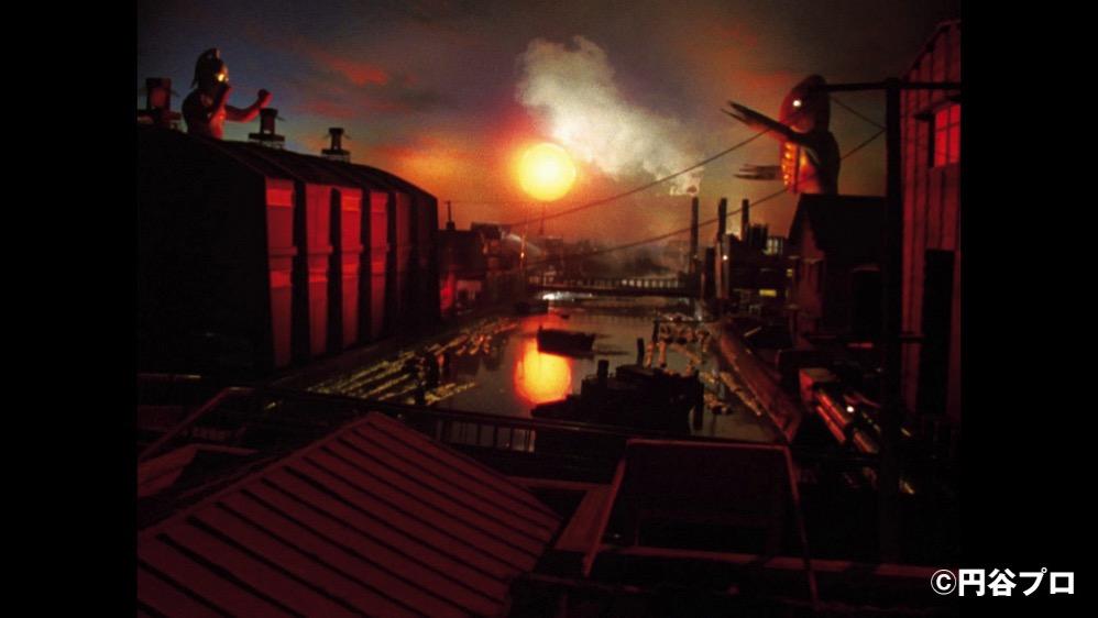 最終回「史上最大の侵略」を大ジオラマ