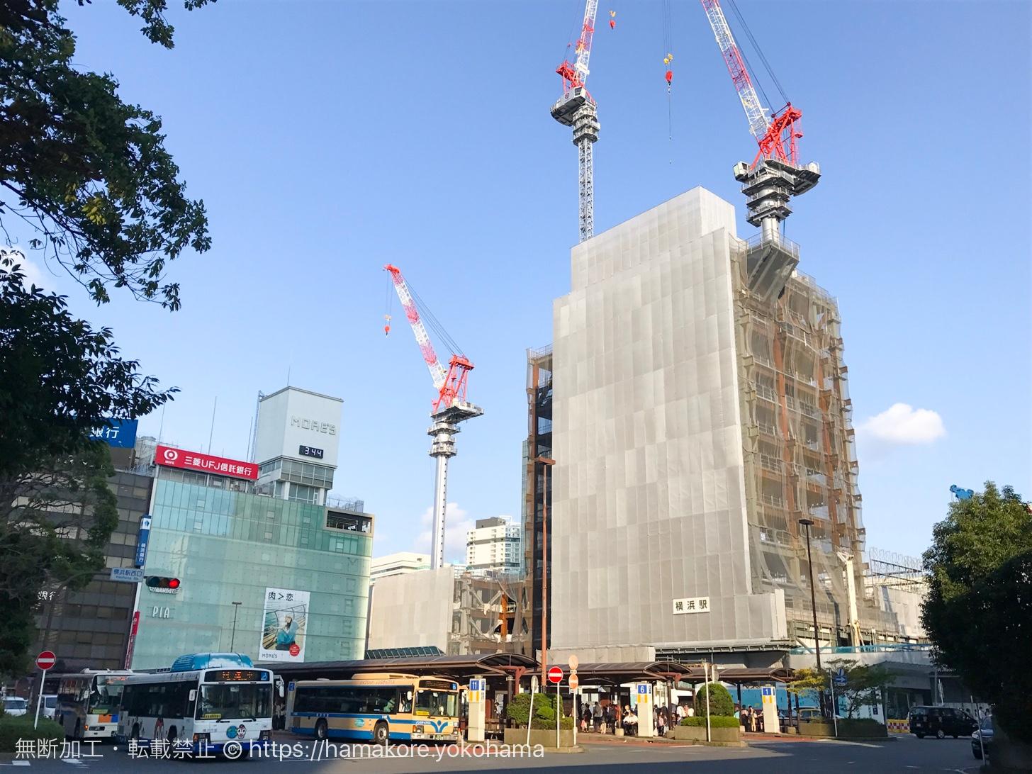 2017年9月下旬撮影 横浜駅