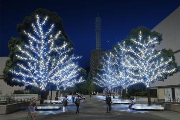 グランモール公園 Bright Illumination 2017-2018が11月7日より開催!みなとみらいエリア最大級のイルミネーション