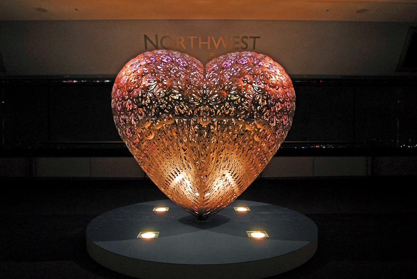 愛のオブジェ「LOVERS」 イメージ