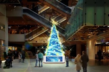 2017年 MARK IS みなとみらいのクリスマスツリーは11月7日に点灯!クリスマス抽選会も