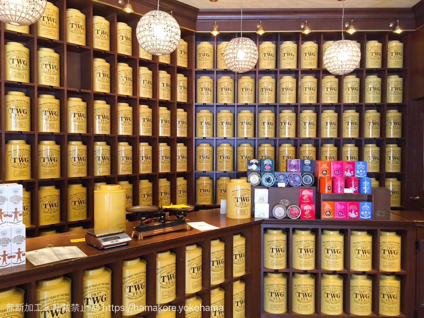 TWG Teaが横浜ランドマークプラザに2017年11月22日オープン!
