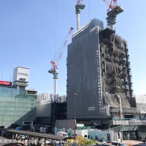 2017年10月 横浜駅西口 駅ビル完成までの様子 [写真掲載]