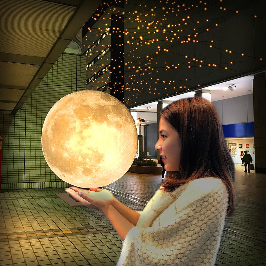 月のオブジェ