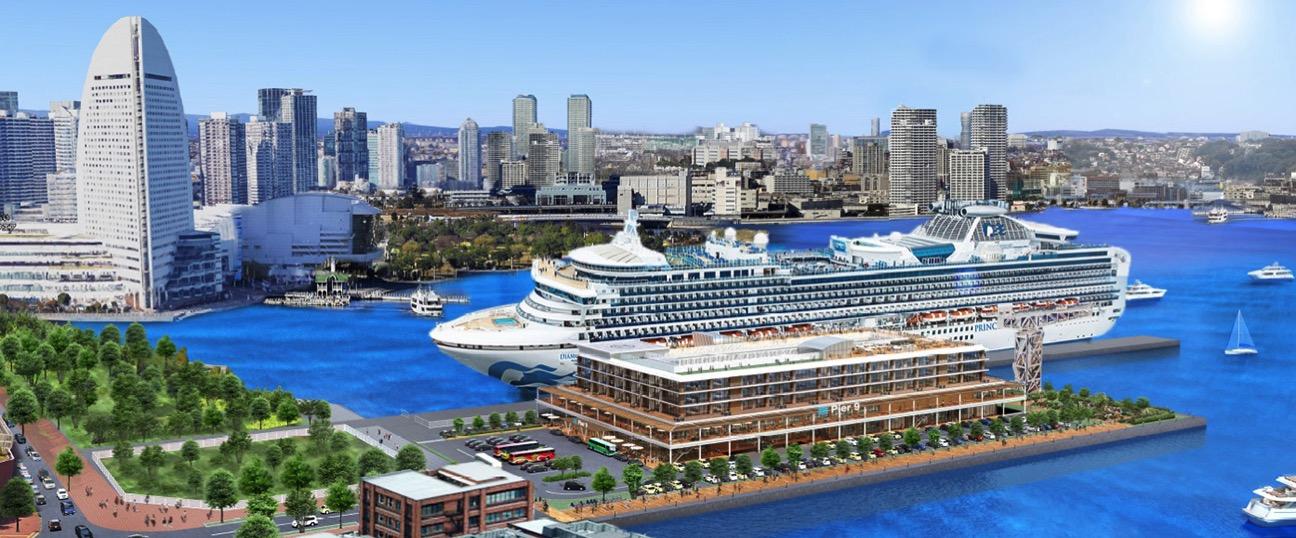 横浜みなとみらい21新港6-1街区に「客船ターミナル施設」を計画!食の商業施設も