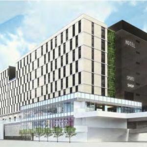 横浜駅西口開発ビル・鶴屋町棟 商業施設・ホテル等を含む交流拠点に計画を変更